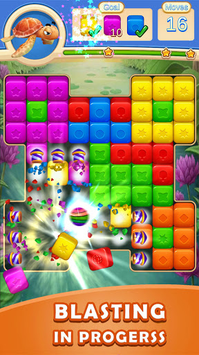 Toy Cubes Blast:Toy Collapse & Pop Cube