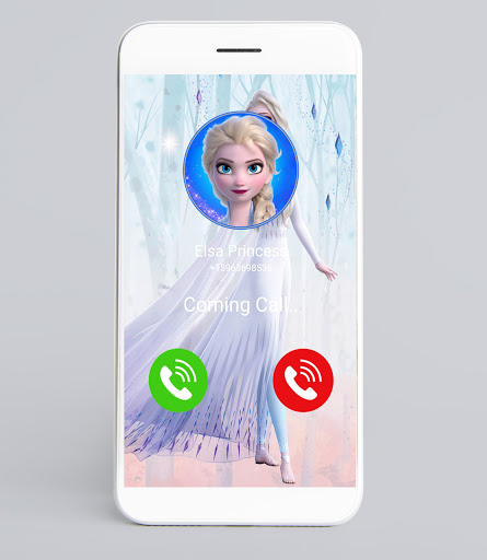 Call from a princess video call and chat Prank
