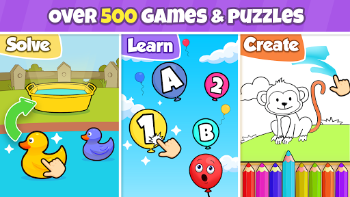 Toddler learning games for kids: 2,3,4 year olds