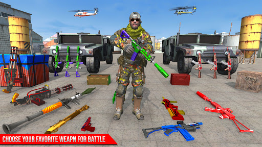 Real Commando Secret Mission Strike Games 2021