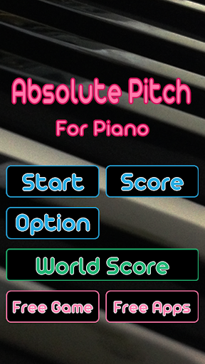 Piano Perfect Pitch - Absolute