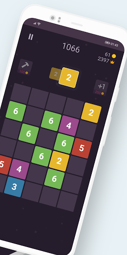 Number Rush - Merge Numbers Puzzle