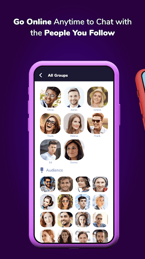 Club House Messenger, Live Chat, Video Call, Text