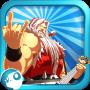 icon Santa Rockstar