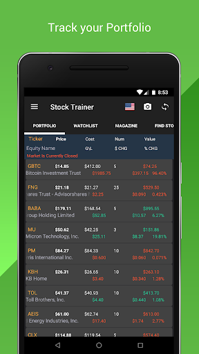Stock Trainer: Virtual Trading