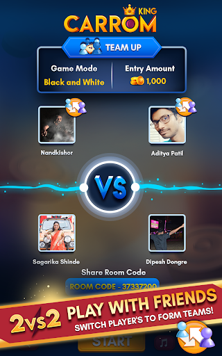 Carrom King™ - Best Online Carrom Board Pool Game