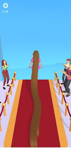 Hair Challenge Body runner - Long Hair Rush Game