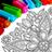 icon Mandala kleur bladsye 12.9.2