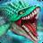icon Jurassic Dino Water World 9.25