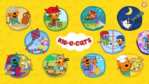 Kid-E-Cats. Educational Games