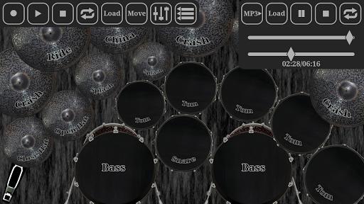 Drum kit metal