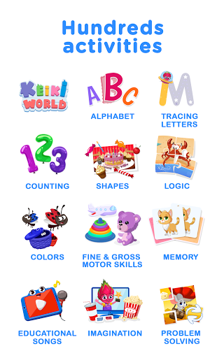 Keiki - ABC Letters Puzzle Games for Kids & Babies
