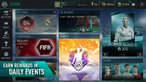 fifa mobile mod apk unlimited coins download 2018
