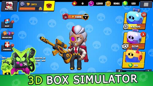 Loot Box brawl stars simulator - 3D skin