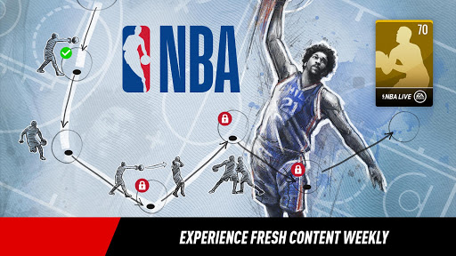 NBA LIVE Mobile Basketball (MOD) for Samsung Galaxy J1