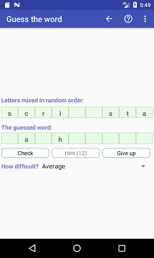 Word Game Collection(Free)