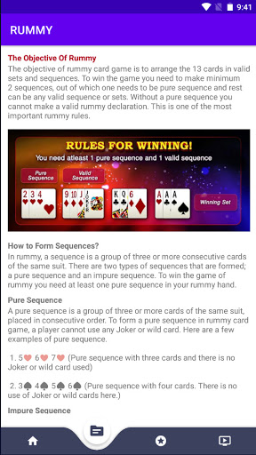Rummy : Learn, Play and Win!