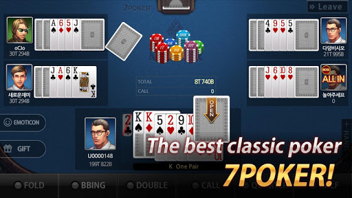 Poker Masters (7 poker, low bad, high low)