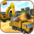 icon Heavy Excavator Crane 2.4