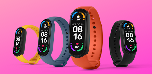 Mi Band 6 watch faces