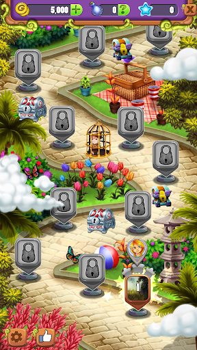 Mahjong Garden - Four Seasons