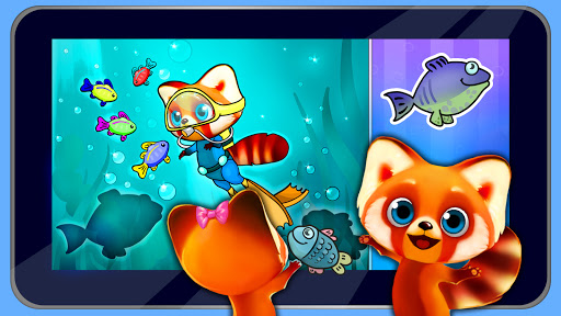 Rocky Red Panda's Professions Puzzle