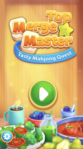 Top Merge Master: Tasty Mahjong Quest