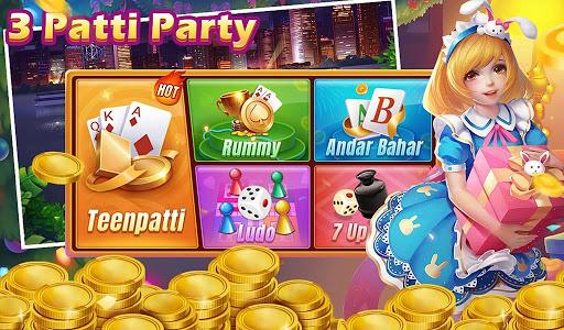 3 Patti Party - Fun games club