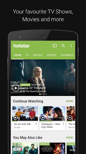 Download Hotstar (MOD) APK for Android