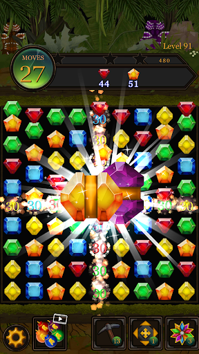 Jewels Jungle Pop : Match3 Gem Crush Puzzle