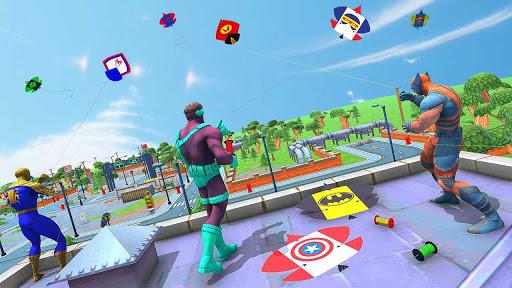 Basant Festival Battle:Superhero Kite Flying Games