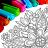 icon Mandala kleur bladsye 15.6.2