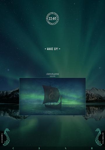 Viking Alarm Clock