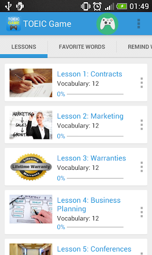 Vocabulary TOEIC Test