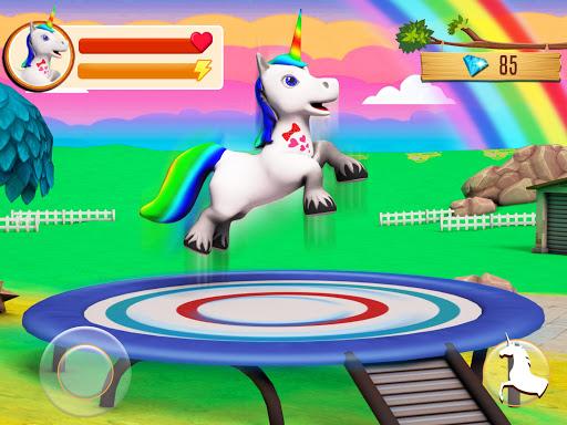Unicorn Horse Life Simulator: Pony Jungle Survival