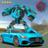 icon Super Futuristic Robot Car Transform City Battle 1.0
