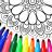 icon Mandala kleur bladsye 15.8.8