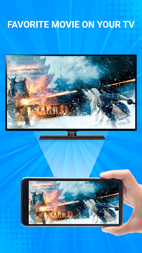 Cast To TV: Screen Mirroring for Smart TV