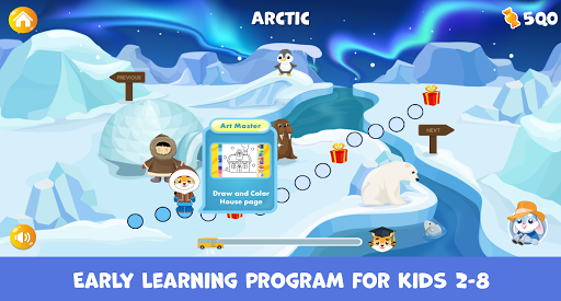Binky Academy: learning game for kids and toddlers