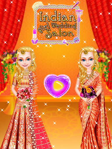 Indian Girl Wedding Salon