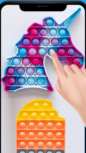 Pop it 3D Fidget - toys Antistress