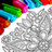 icon Mandala kleur bladsye 1250