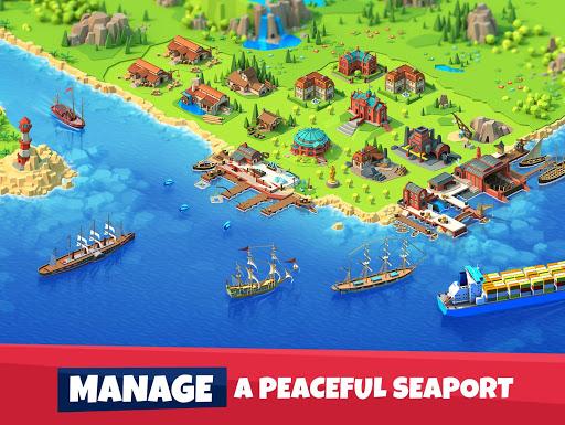 Seaport - Explore, Collect & Trade (MOD) for Unihertz Jelly