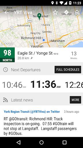 York Region YRT Viva Bus - MonTransit