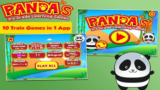 Panda Third Grade Games