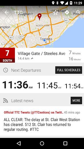 Toronto TTC Bus - MonTransit
