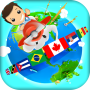 icon Geography Quiz Game 3D