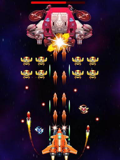 Strike Galaxy Attack: Alien Space Chicken Shooter