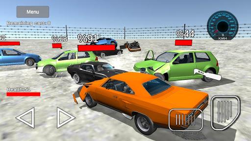 Derby crash: car demolition simulator games