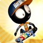 icon Stickman Skate Battle